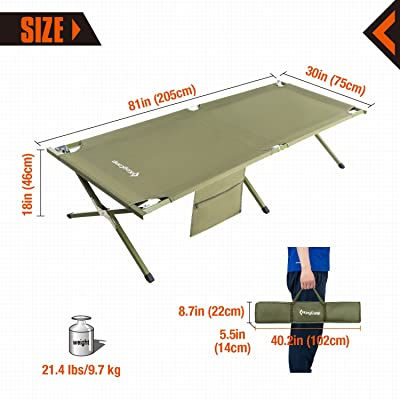 Size of Camping Cot