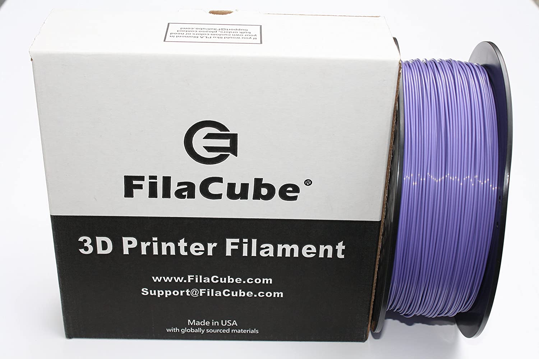 Light Coffee//Chocolate 3D FDM//FFF Printer Filament Brown 2.2 lbs polylactic Acid polylactide FilaCube 1.75mm 1 Kilogram PLA 2 Made in USA PLA 2nd Generation