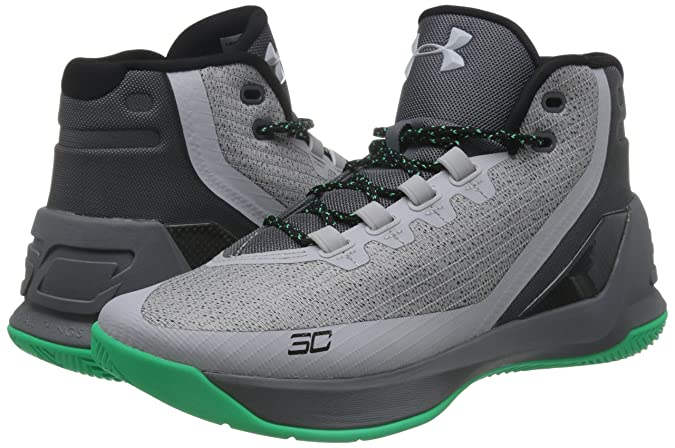 Amazon.com | Under Armour Mens Curry 3 Basketball Shoe Grey | Basketball