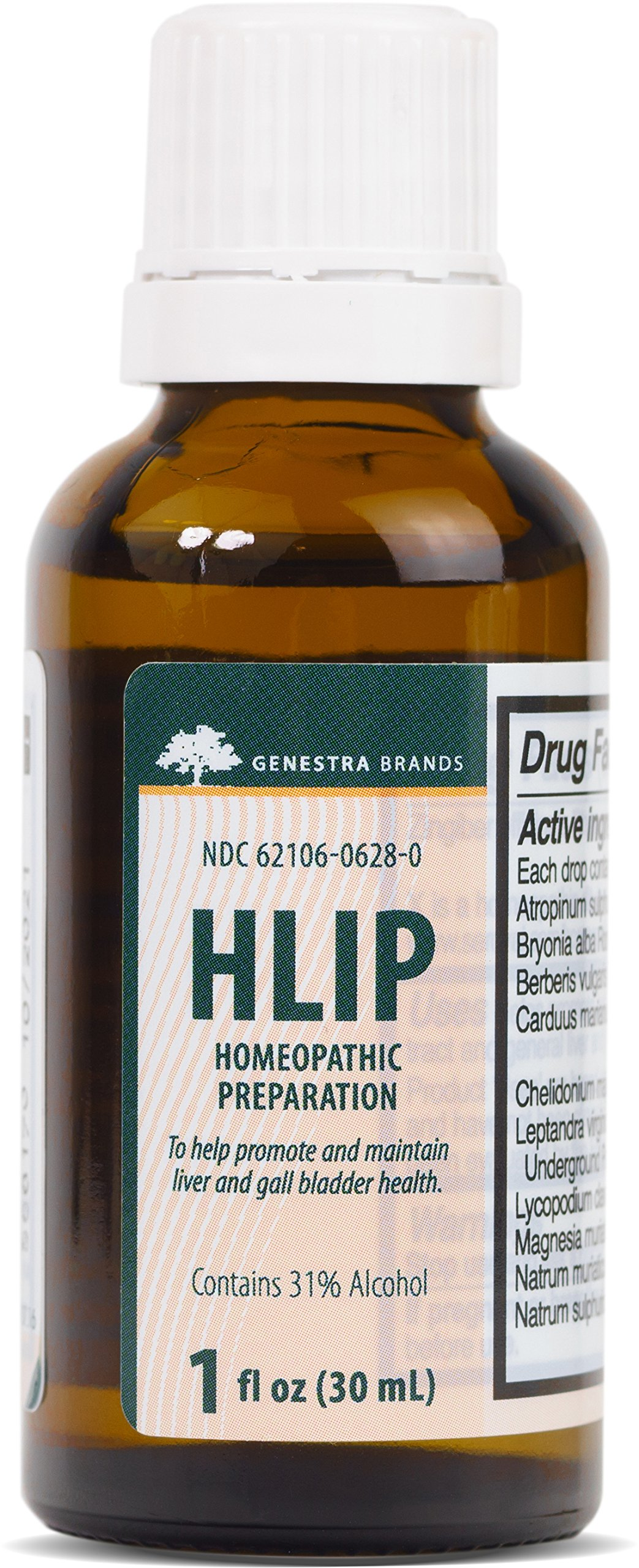 Genestra Brands - HLIP - Organotherapy and Homeopathic Remedy - 1 fl oz (30 ml) by Genestra Brands (Image #1)