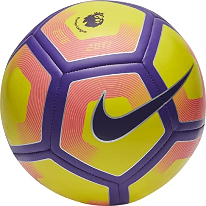Nike Pitch Pl Balón, Unisex Adulto, Amarillo (Yellow/Purple/Black ...