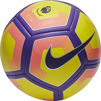 Nike Pitch Pl Balón, Unisex Adulto, Amarillo (Yellow/Purple/Black ...
