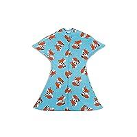 SleepingBaby Animal Zipadee-Zip Swaddle Transition Baby Swaddle Blanket with Zipper...