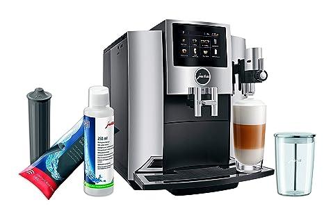 Amazon.com: Jura S8 - Cafetera automática Moonlight Silver ...