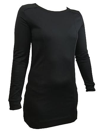 9b995ba10c Ladies Marks   Spencer Black Longline Heatgen Winter Thermal Long Sleeve  Top M S ...