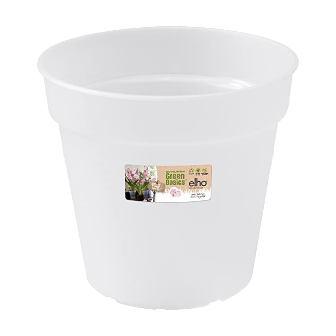 Transparent /Ø 13 x H 11.4 cm Pot De Fleurs Elho Brussels Orchid/ée 12,5 Int/érieur