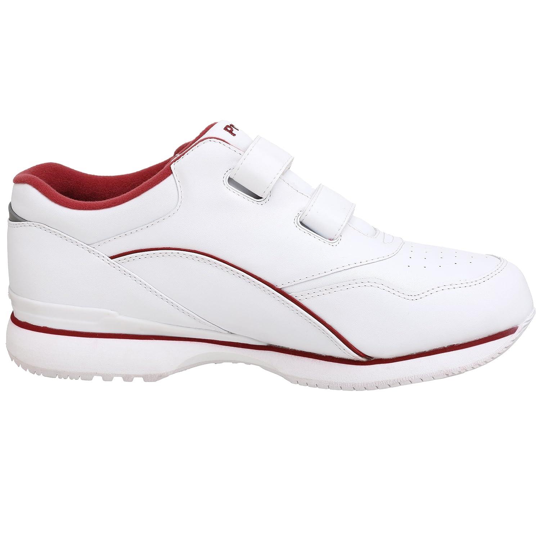 Propet Strap Women's Tour Walker Strap Propet Sneaker B005GPP8HO 10 XWW|White/Berry c25221