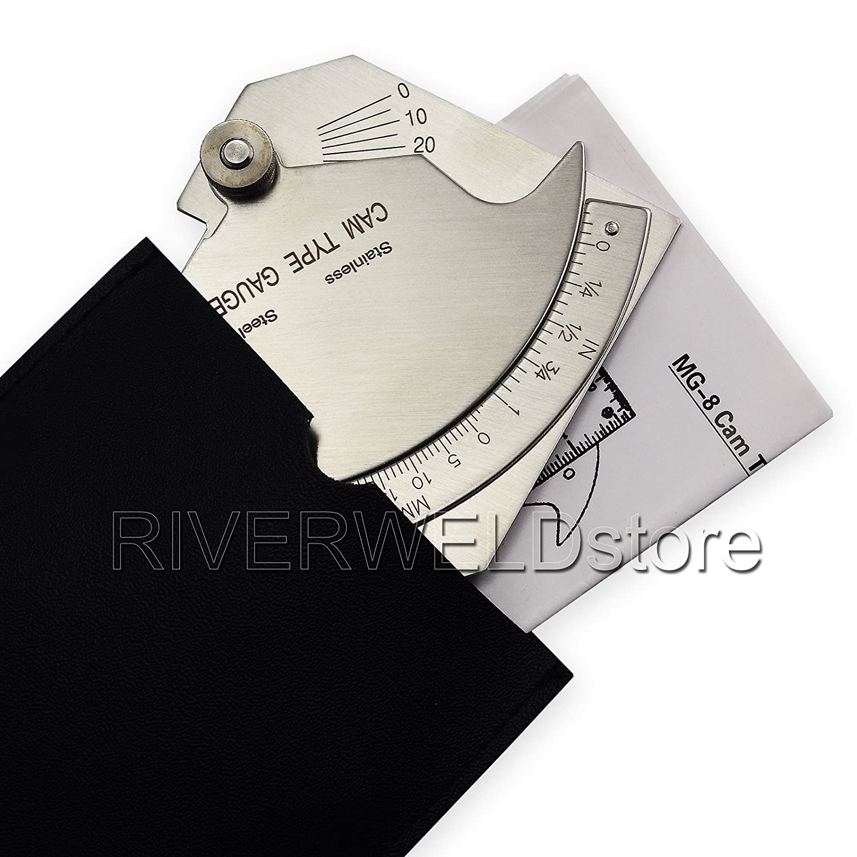 Medidor de puente Cam Gage prueba cubital Soldadura Inspección: Amazon.es: Bricolaje y herramientas