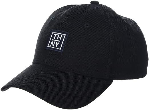 0ac3282f Tommy Hilfiger Men's Thny Baseball Cap, (Black 002), One (Size: OS ...