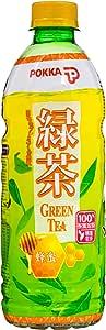 Pokka Honey Green Tea, 500ml, Pack of 24