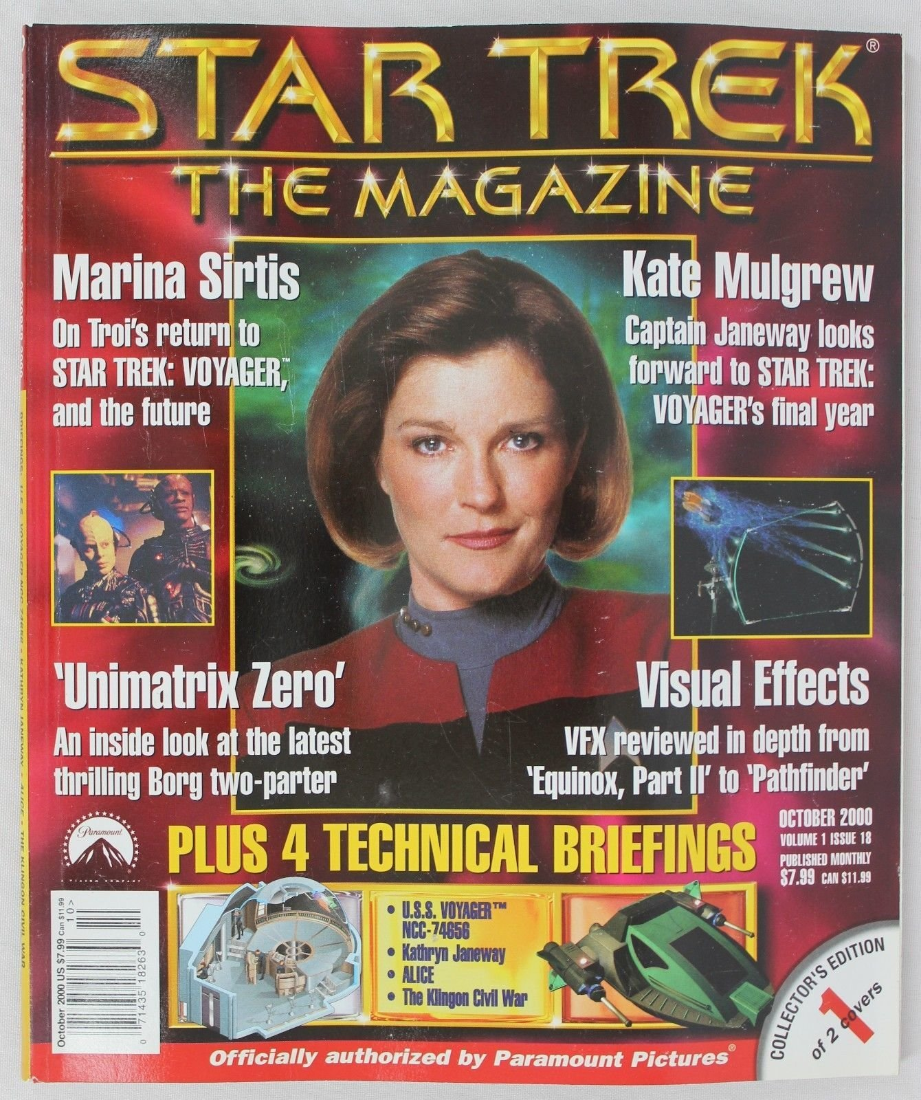 Download Star Trek  The Magazine  Issue 18  October 2000 ebook