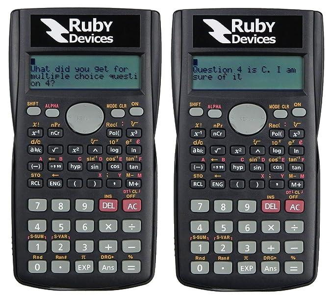 Amazon com : Exam Cheat - Text Messaging Calculator - Ruby