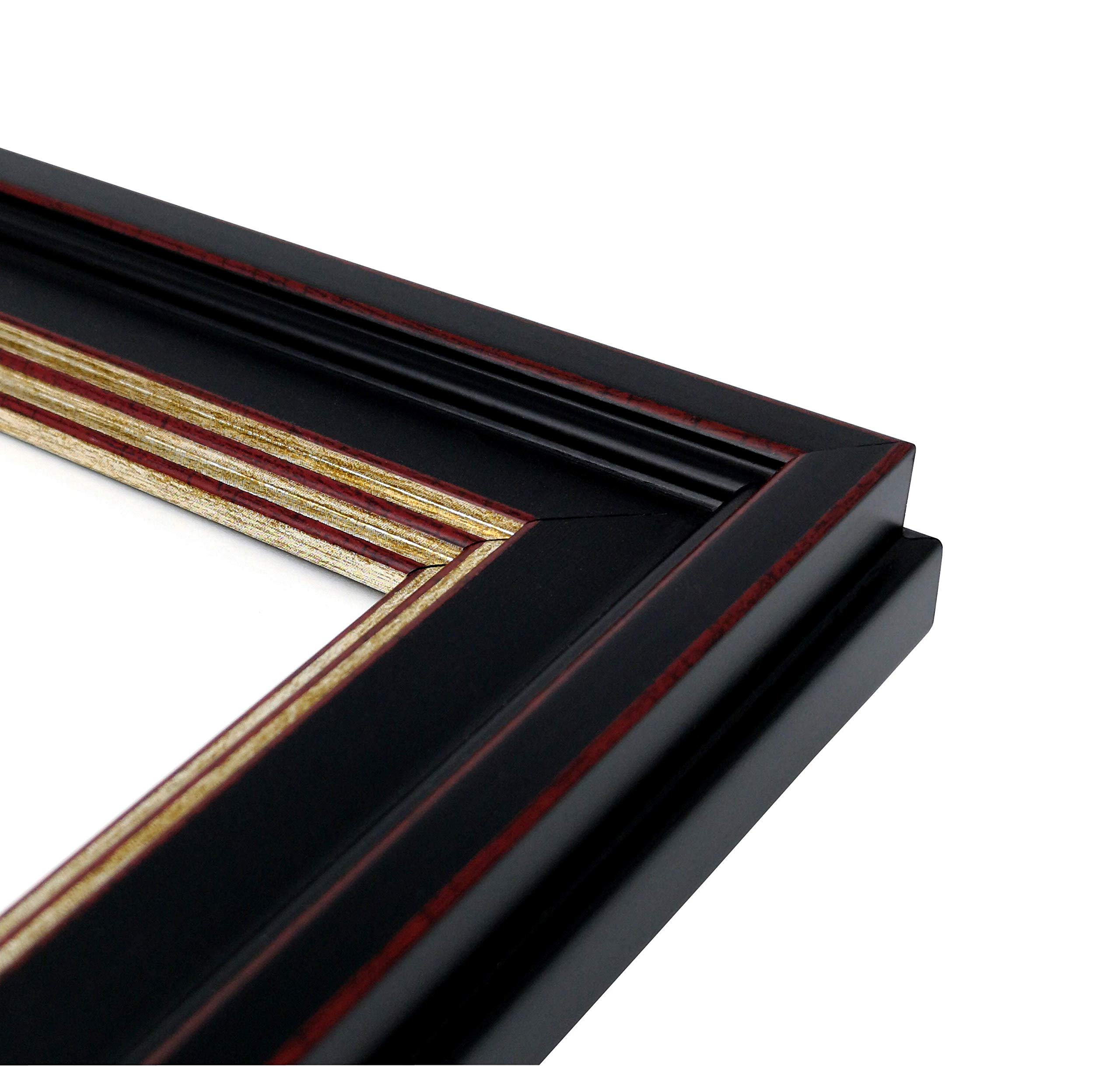Onuri Inc - Luxurious Document Frame (2-Pack) - Classic 8.5x11 Picture Frame for Diploma Documents and Certificates by Onuri Inc. (Image #4)