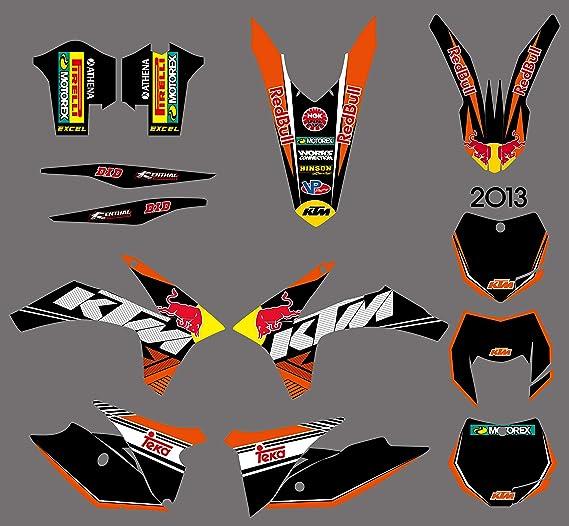 ruilian DST0598 Pegatinas Personalizadas para Motocross ...