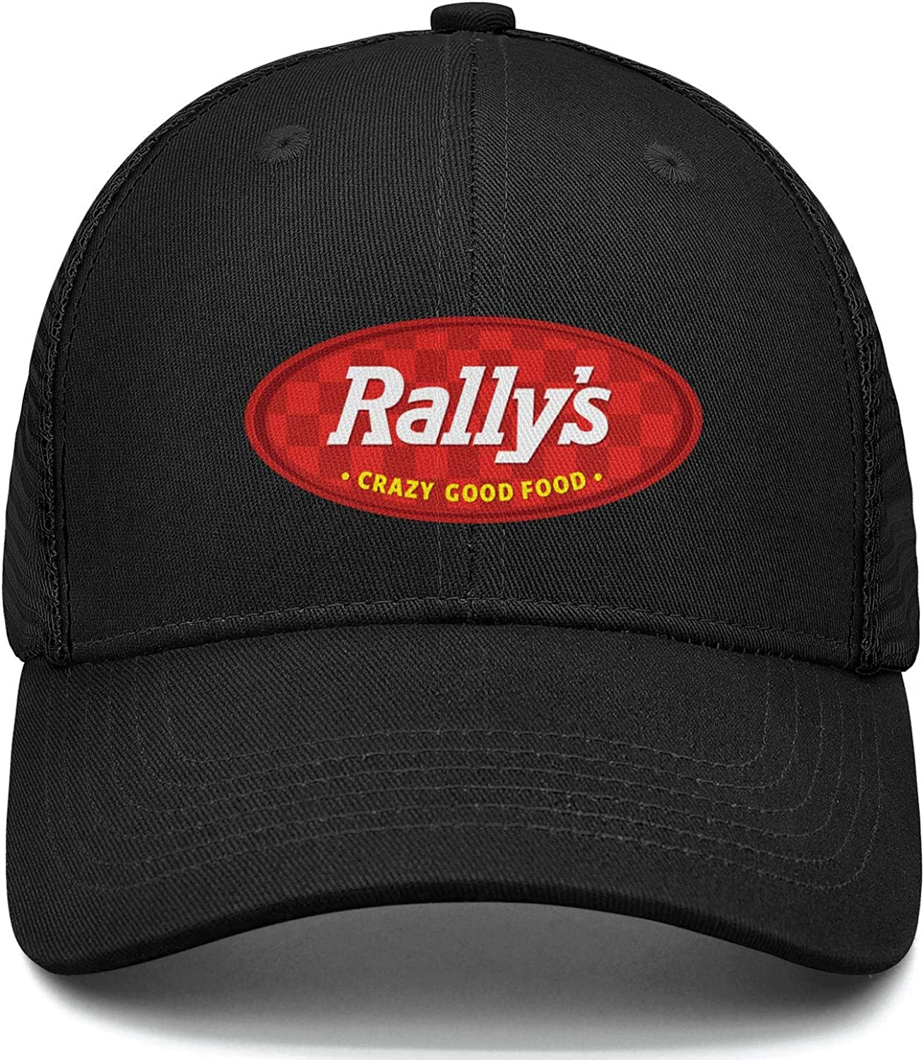 WintyHC Checkers and Rallys Logo Cowboy Hat Dad Hat One Size Skull Cap