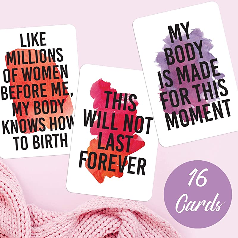 Positive Birth Affirmation 24 Card Set