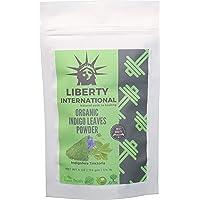 Liberty International Indigo Powder Hair ColorFor Hair Black (114G) Organic Certified NC167