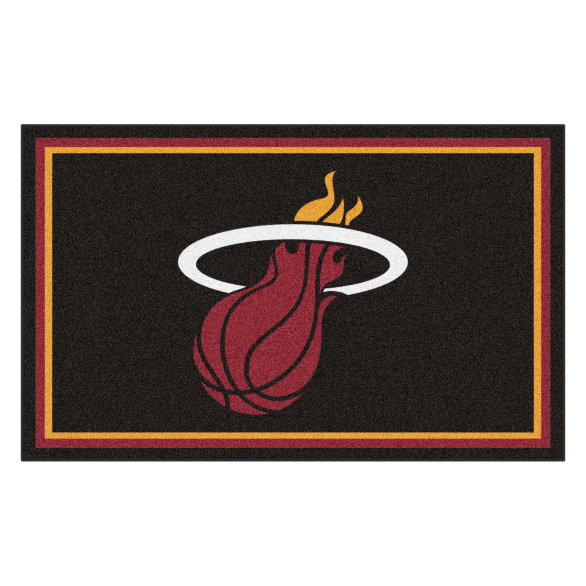 FANMATS 20433 44''x71'' Team Color NBA - Miami Heat Rug by Fanmats