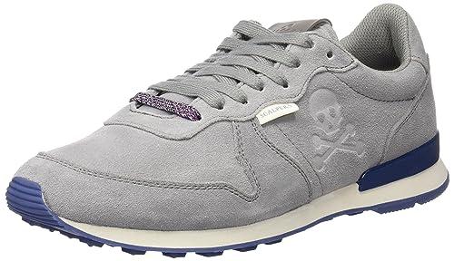 Scalpers Havanna Insignia, Zapatillas para Hombre, Grey, 44 EU: Amazon.es: Zapatos y complementos