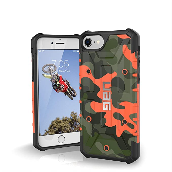best service 0fcfc 51a45 URBAN ARMOR GEAR [UAG] iPhone 8/iPhone 7/iPhone 6s [4.7-inch Screen]  Pathfinder SE Feather-Light Rugged [Hunter] Military Drop Tested iPhone Case