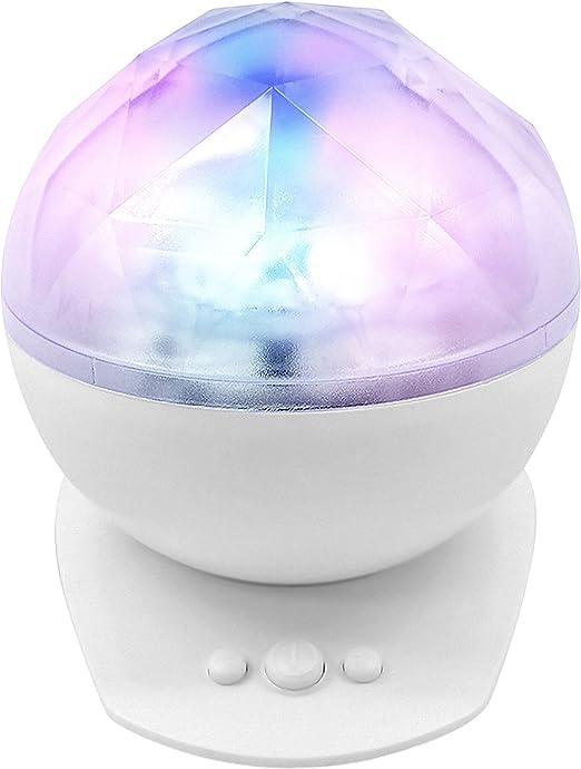 Mejor habitación luz Aurora boreal ondas que cambia de color LED ...