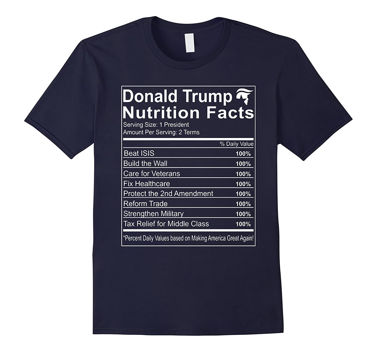 0c93e0f1d Trump Nutrition Facts Make America Great T-Shirt-RT – Rateeshirt