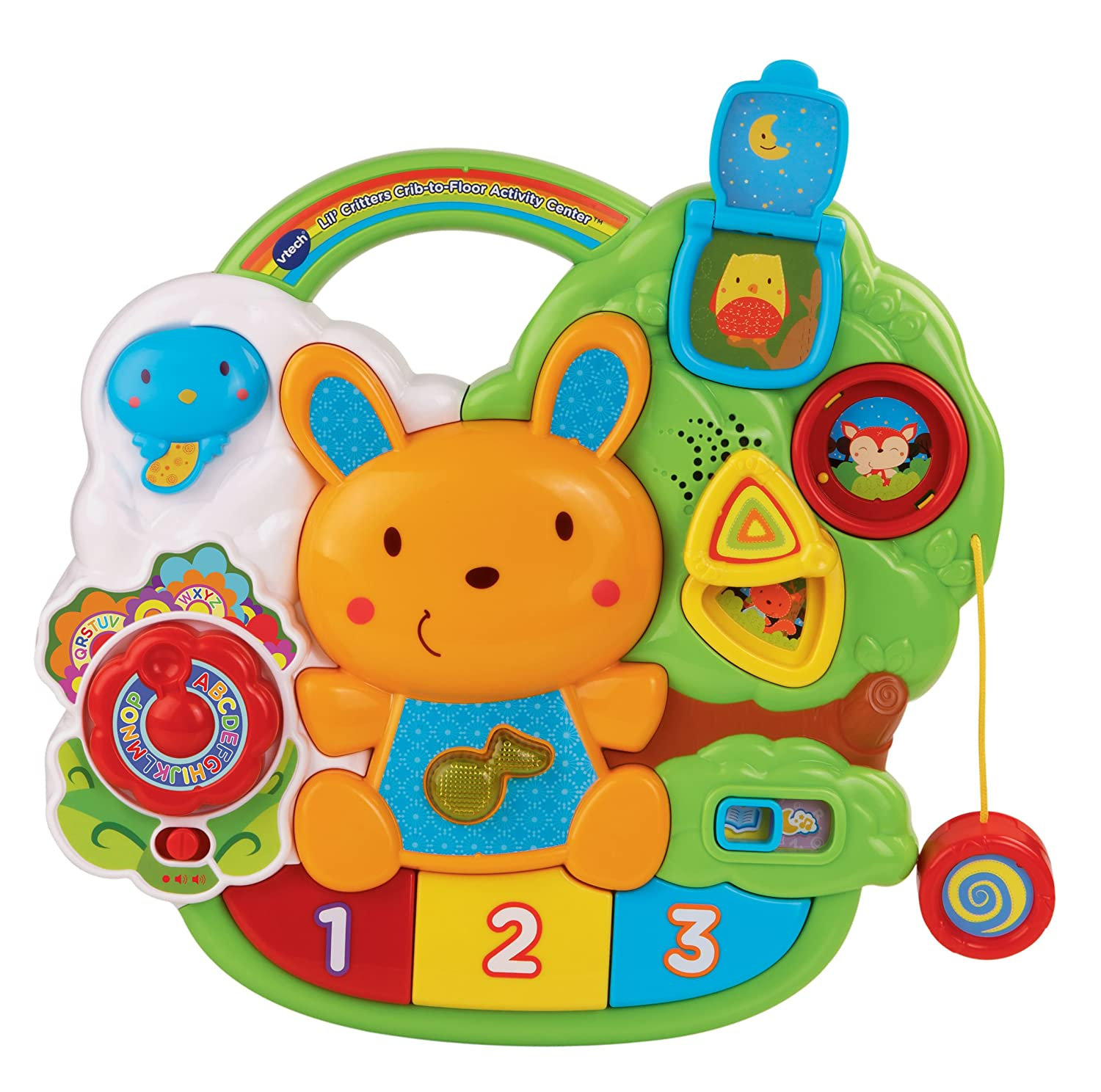 Amazon VTech Baby Lil Critters Crib to Floor Activity Center