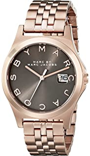Marc by Marc Jacobs Womens MBM3350 Rose Gold-Tone Stainless Steel Bracelet Watch