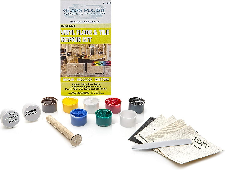 Vinyl Floor And Vinyl Tile Diy Repair Kit Repairs Rips Holes Burns Gouges Baumarkt