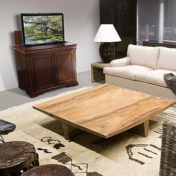 amazoncom touchstone tremont 42inch tv lift cabinet kitchen u0026 dining