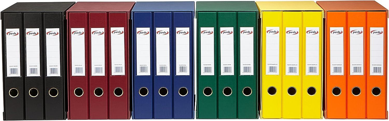 Modulo de 3 archivadores folio color verde Pardo 924304