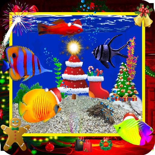 Aquarium Fish Tank (Holiday Tiny One Ornament)