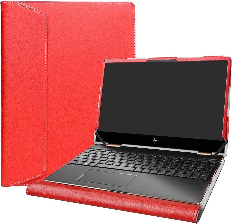 """Alapmk Protective Cover Case for 15.6"""" HP Envy x360 15 15M-dsXXXX 15M-drXXXX(15m-dr1011dx)/HP Chromebook 15 15-deXXXX Laptop[Not fit Envy X360 15 15-cnXXXX 15-cpXXXX 15-apXXX 15-bpXXX],Red"""