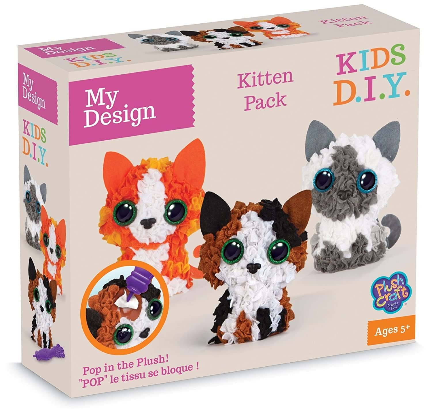 MGM Factory - MGM Kitten Pack 3 Personnages 3D, 77259 au sycomore