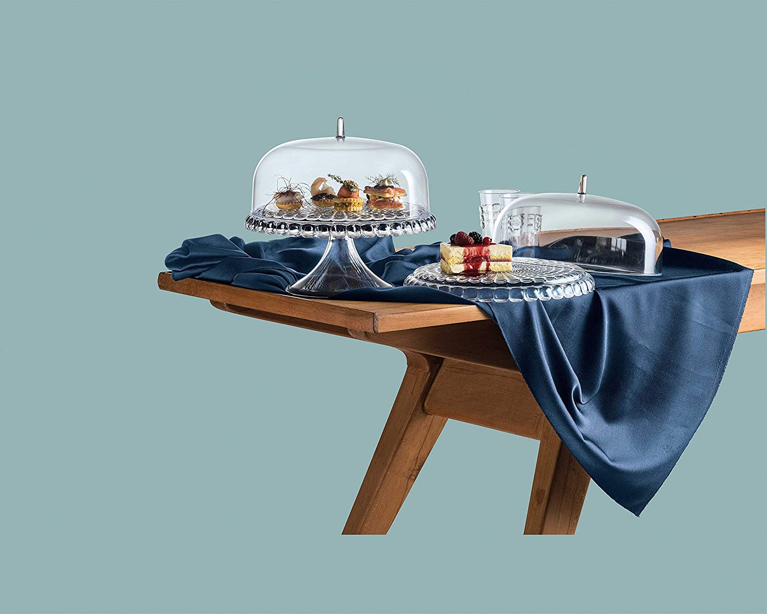 30 x .16 cm SMMA Guzzini Stands and Cake Serving Sets