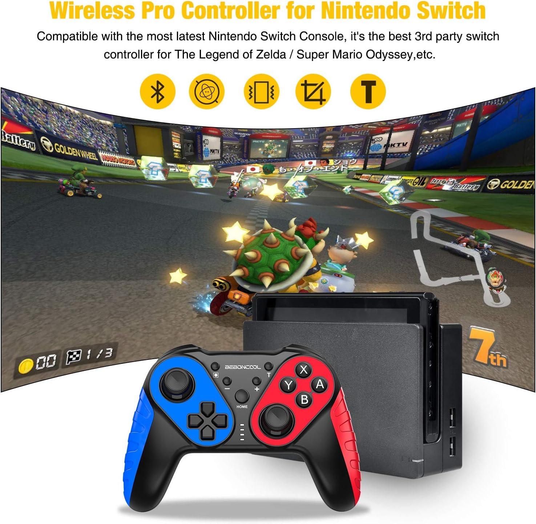 Controlador inalámbrico para Nintendo Switch, Switch Lite Mando a ...