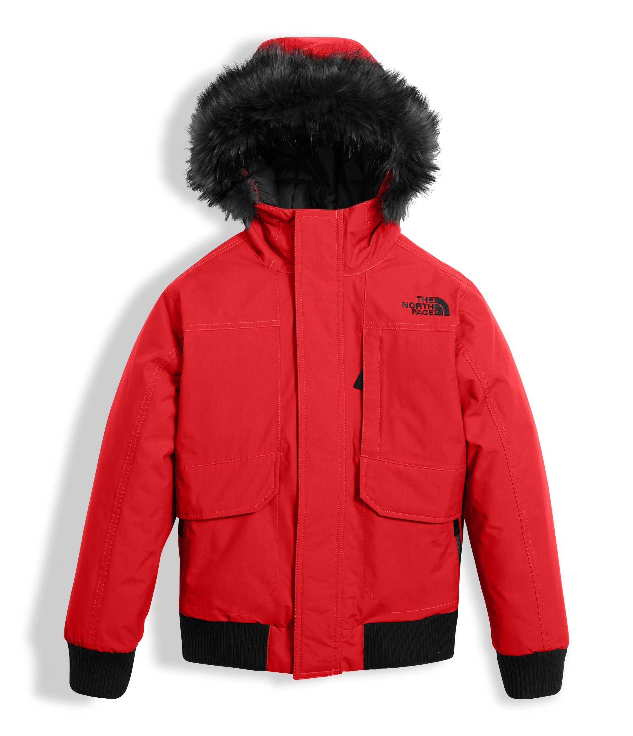 The North Face Boy's Gotham Down Jacket - Red - S (Past Season)