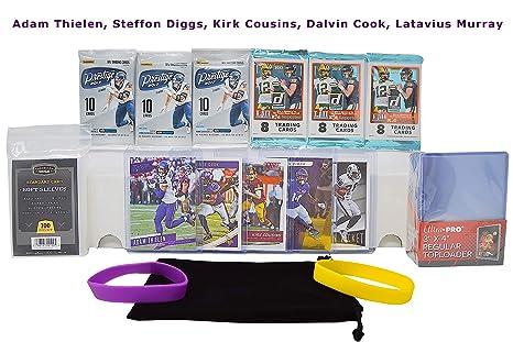 Amazon Com Minnesota Vikings Ultimate Football Cards Gift