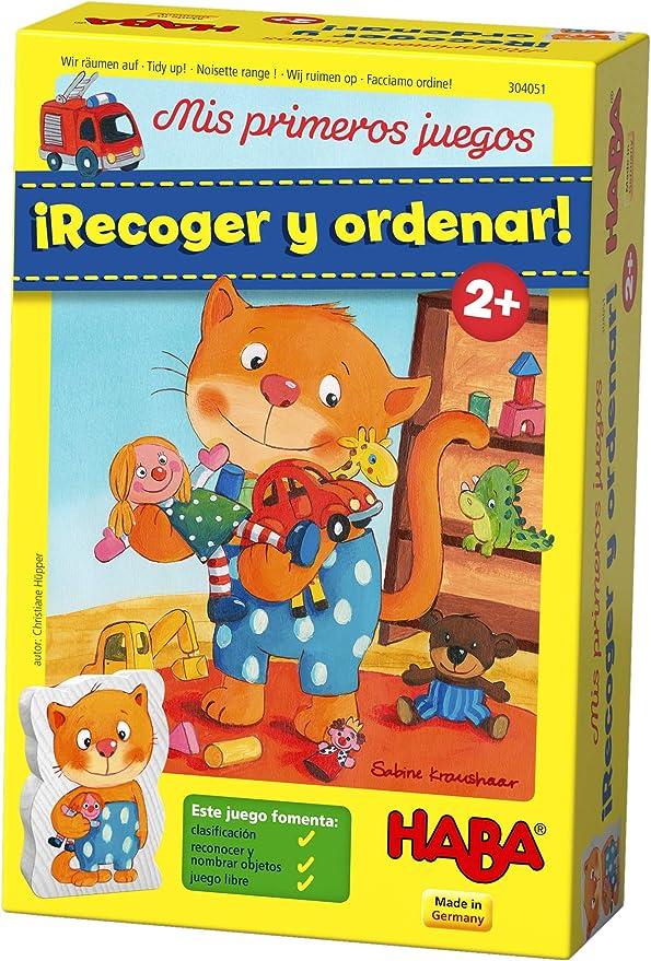 Haba-Mis Mis Primeros Juegos: ¡Recoger Y Ordenar! - Esp, Multicolor (Habermass 304051) , color/modelo surtido: Amazon.es: Juguetes y juegos