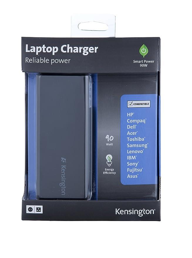 Kensington K38074EU - Cargador Universal para Ordenador portátil, 90 W: Kensington: Amazon.es: Informática