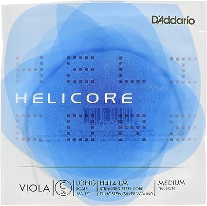Oferta amazon: D'Addario Orchestral Helicore - Cuerda individual C/Do para viola, escala larga, tensión media