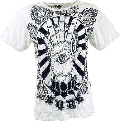 GURU-SHOP Seguro Camiseta Ojo Mágico, Algodón, Camisetas Sure`: Amazon.es: Ropa y accesorios