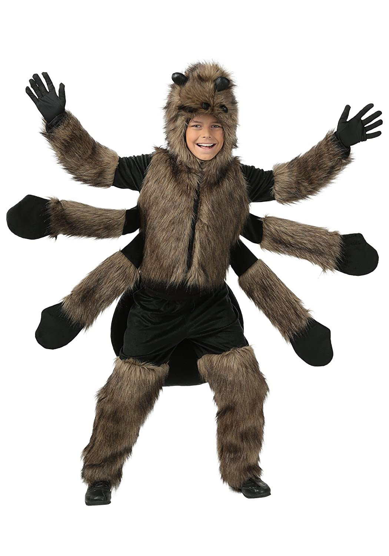 sc 1 st  Amazon.com & Amazon.com: Child Furry Spider Costume: Clothing