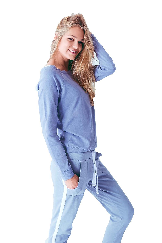 Louis & Louisa PURE Wellness Hose Damen Umstandshose Pyjama Hose