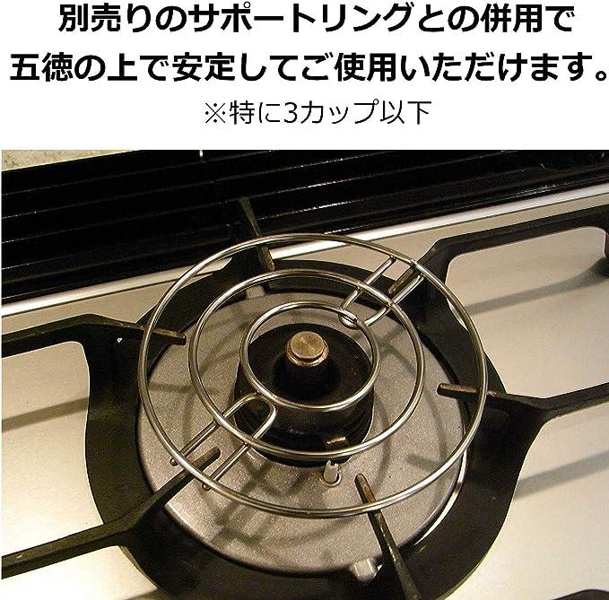 Bialetti 06973 Mini Express Stovetop espresso percolator, 2-Cup, Aluminum