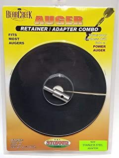 """Ice Fishing Auger Stopper//Drill Adapter Combo for former Gas Augers 6-7/"""" SALE!"""