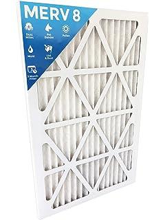 Box of 2 20x25x4M14 Nordic Pure 20x25x4 MERV 14 Pleated AC Furnace Air Filter 3-5//8 Actual Depth
