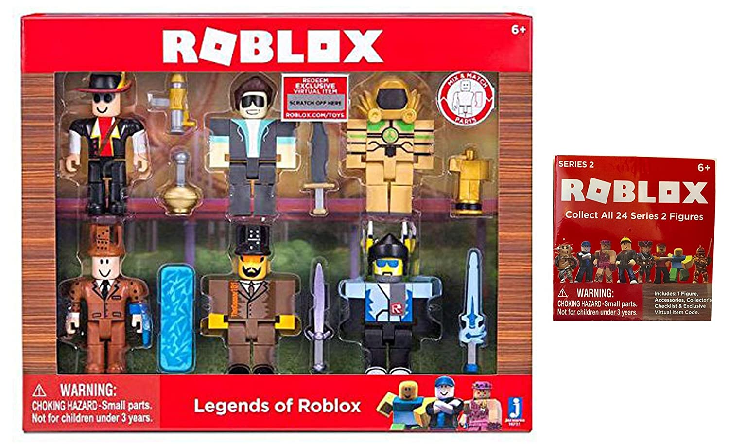 Amazoncom Legend Of Roblox Toy Set Includes Legends Of Roblox