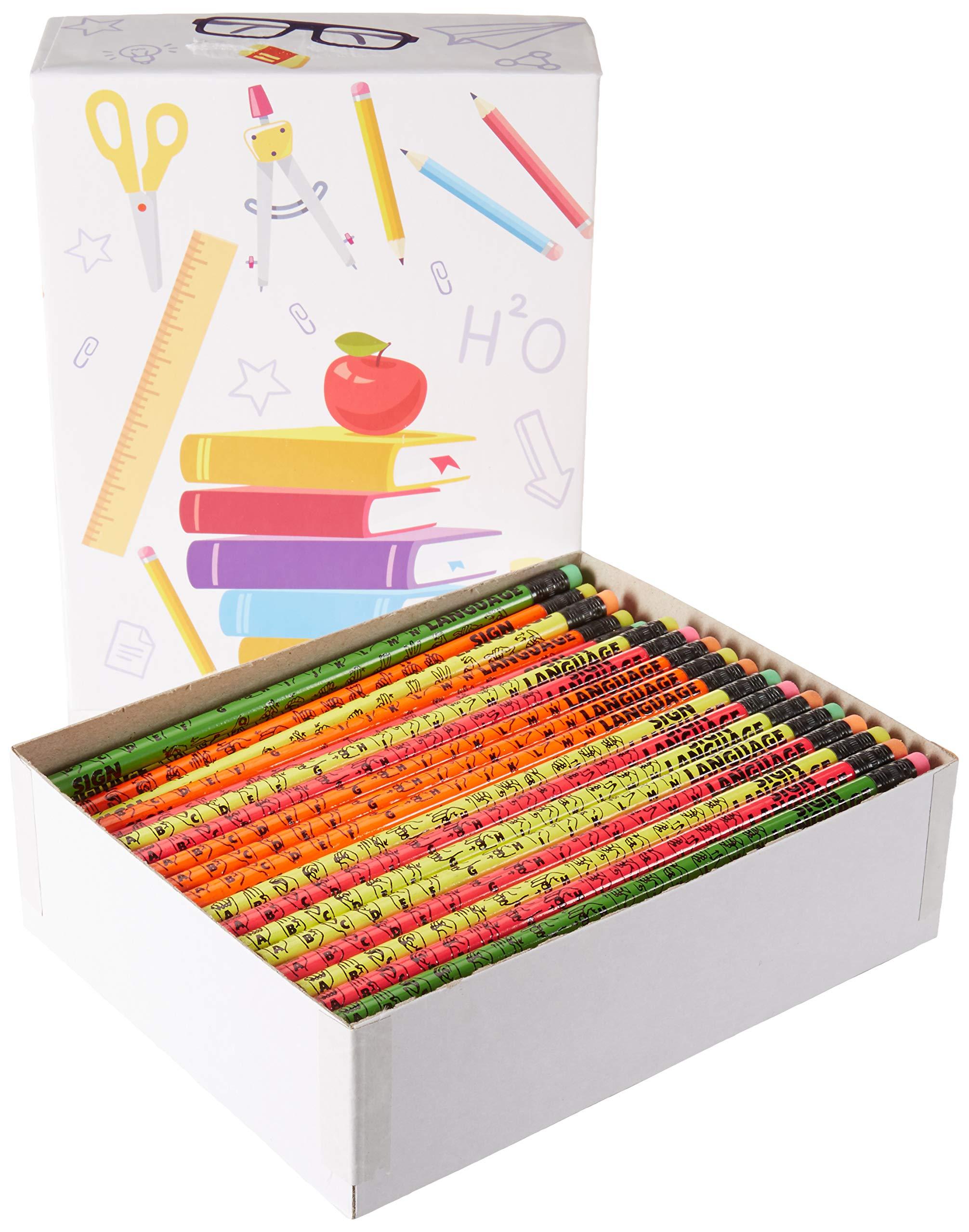 Sign Language Pencils (144 Pencils)