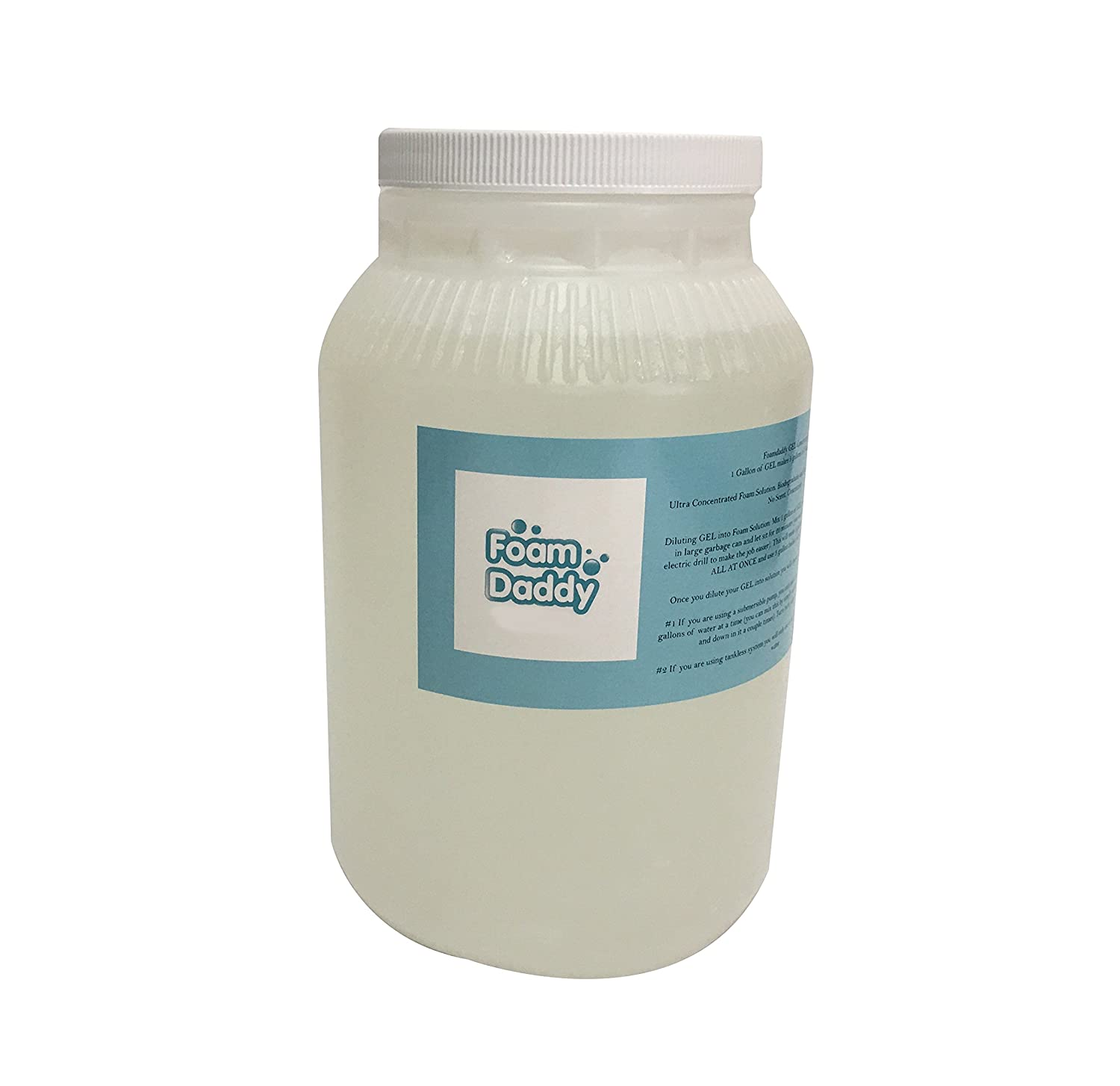 GEL Foam Machine Foam Party Solution Hypo-allergenic 400:1 Ultra Concentrated (1 gallon) Foamdaddy Foamdaddy GEL